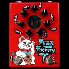 Zvex Hand Painted Fuzz Factory 7 Red