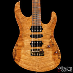 Suhr Custom Modern Natural Burl Roasted Alder / Cocobolo 27134
