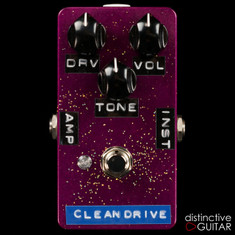 Shin's Music Clean Drive / Boost Fuchsia Sparkle