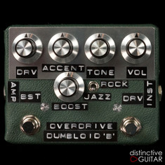 Shin's Music / Dumbloid Special Overdrive W/ Boost Green Tolex