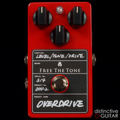 Free The Tone SOV-2 Overdrive Red