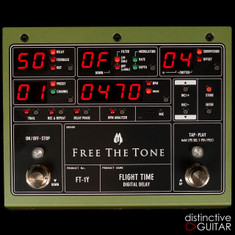 Free The Tone FT-1Y Flight Time Digital Delay Green