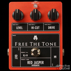 Free The Tone RJ-1V Red Jasper Overdrive Orange