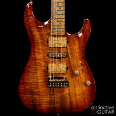 Suhr Standard Carve Top 1PC Koa COLLECTION 2015 Collection Series Natural 27147