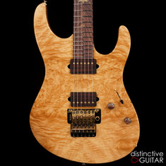 Suhr Custom Modern 1 PC Compression Burl Maple 2015 Collection Series Natural 27194