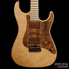 Suhr Custom Standard 1 PC Maple 2015 Collection Series Natural 27222