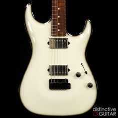 Suhr Standard Carve Top Olympic White / Blackburst 28376