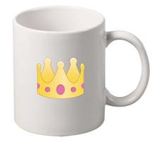 EMOJI Crown coffee tea mugs gift