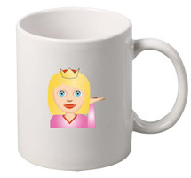 EMOJI Princes coffee tea mugs gift