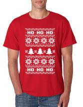 HO HO HO men T-Shirts