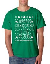 Merry Christmas Ya Filthy Animal men T-Shirts