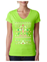 HO HO HO Christmas Stripper Sporty Tee Shirt