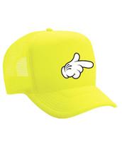 Mickey Hand Point Flat Bill Cap gift