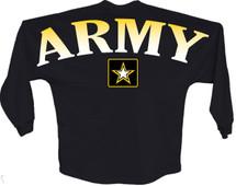 Army star J america women Long sleeve shirt pom print