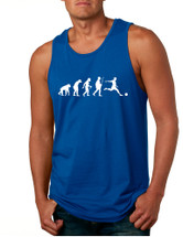 Men's Tank Top Soccer Evolution Funny Love Sport Top