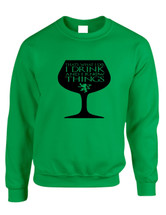 Adult Crewneck That's What I Do I Drink And Know Things Wing Glass Tyrion Lannister Game Of Thrones Inspired Top