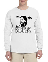 Men's Long Sleeve Father Of Dragons Cool Shirt Hot Gift