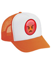 Emoji Angry Valucap Foam Trucker Cap