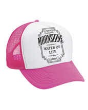 Moonshine - Black  Valucap Foam Trucker Cap