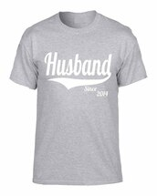 Husband since any year gift shirt