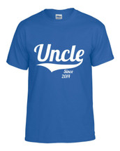 Uncle since any year gift shirt