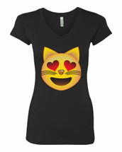 Cat in love  Sporty Tee Shirt