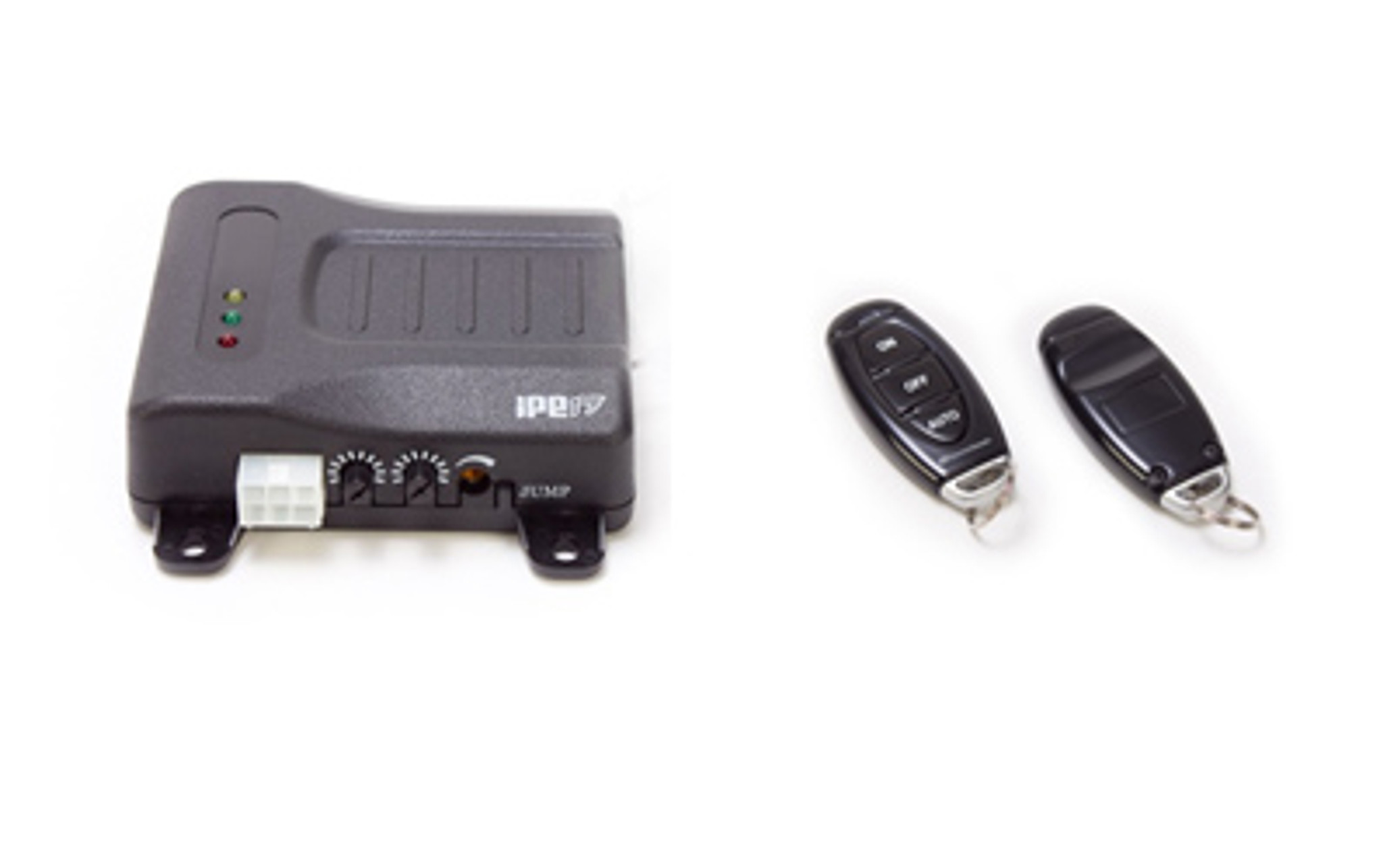 Two remotes are included