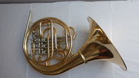 French Horn Hoyer 6802GA-L in Gold Brass