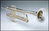 Trumpet Bb A in Silver Plate by Shires