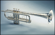 Trumpet C, Model 5F in Silver Plate by Shires