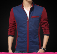 Formal Zip Jacket by Tee Tall - Red
