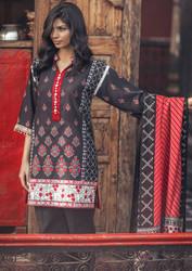Grand Nouveau 3 Piece Pashmina Woolen Shawl Collection -18-BLACK