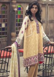 Grand Nouveau 3 Piece Pashmina Woolen Shawl Collection -20-DARK BEIGE