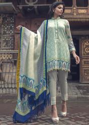Grand Nouveau 3 Piece Pashmina Woolen Shawl Collection -20-GREEN