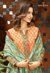 Asim Jofa Luxury Shawl Collection AJW-01A