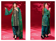 Ayesha Chottani Embroidered Linen Collection - 8A