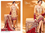 Ayesha Chottani Embroidered Linen Collection - 11A