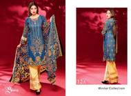 Ayesha Chottani Embroidered Linen Collection - 12A