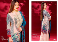 Ayesha Chottani Embroidered Linen Collection - 9B
