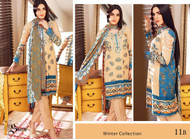 Ayesha Chottani Embroidered Linen Collection - 11B