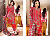 Ayesha Chottani Embroidered Linen Collection - 12B