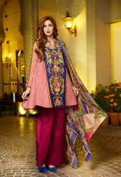 Johra Embroidered Khaddar Vol 2 - ARE-71A