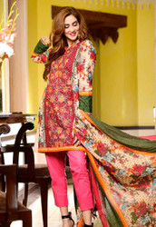 Johra Embroidered Khaddar Vol 2 - ARE-74B