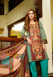 Johra Embroidered Khaddar Vol 2 - ARE-71B