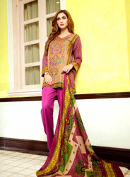 Johra Embroidered Khaddar Vol 2 - ARE-70B