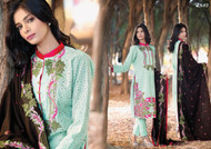 Areeba Saleem Embroidered Peach Leather - AS03