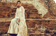 Tena Durrani Luxury Chiffon Design 4
