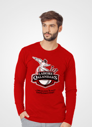 Lahore Qalandars Full Sleeve V-Neck T-Shirt by Tee Tall