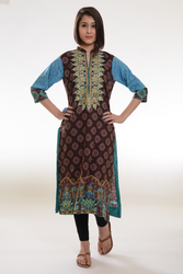 Maya Embroidered Kurti Collection Vol 1 MKC004