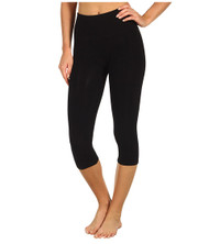Fifth Avenue Crop Jersey Leggings - Black